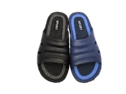 36 Units of SMART MENS SLIP ON SANDALS WITH GROOVED INSOLE - Men's Flip Flops and Sandals