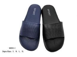 36 Units of Mens Nylon Slip On Sandals - Men's Flip Flops and Sandals