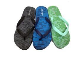 36 Units of Mens Beach Flip Flops In Three Colors - Men's Flip Flops and Sandals