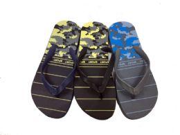 36 Units of Mens Flip Flops Army Print - Men's Flip Flops and Sandals