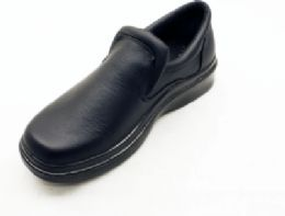 12 Units of Moccasin Style Slip On Formal Shoes For Men - Men's Footwear