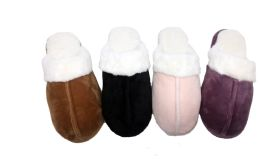36 Units of SNOW WHITE FURRY WINTER SLIPPERS FOR WOMEN - Women's Slippers
