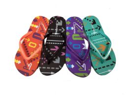 48 Units of Cammie Womens Fashionable Flip Flops - Women's Flip Flops