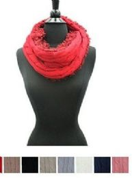 48 Units of Women's Winter Tube Scarf In Assorted Color - Winter Scarves