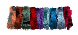 72 Units of Winter Rippled Scarf - Winter Scarves