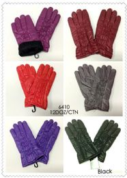 144 Units of Women's Elastic Winter Glove - Winter Gloves
