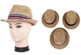 72 Units of Unisex Fedora Hat - Cowboy & Boonie Hat