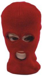 72 Units of 3 Hole Ski Mask - Unisex Ski Masks