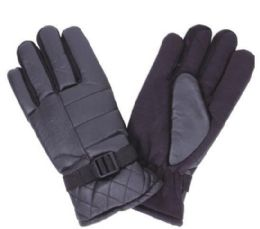 96 Units of Men Thermal Lining Ski Gloves - Ski Gloves