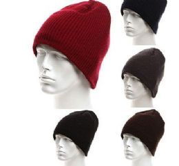 72 Units of Mans Soft Knit Beanie Hat Warm and Durable - Winter Beanie Hats