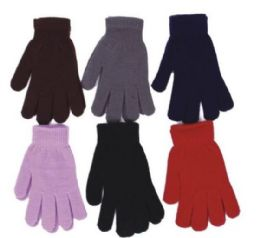 240 Units of Unisex Acrylic Magic Glove - Knitted Stretch Gloves