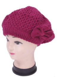 72 Units of Women's Beret Hat - Fashion Winter Hats