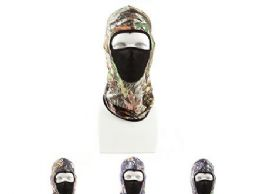 120 Units of Ninja Windproof Weather Face Mask Assorted Color - Unisex Ski Masks