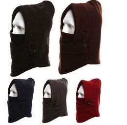 36 Units of Unisex Fleece Windproof Ski Face Mask - Unisex Ski Masks