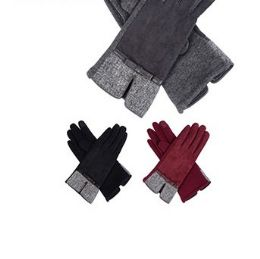 72 Units of Ladies Winter Gloves Assorted Color - Winter Gloves