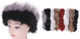 72 Units of Women's Fur Headband - Ear Warmers