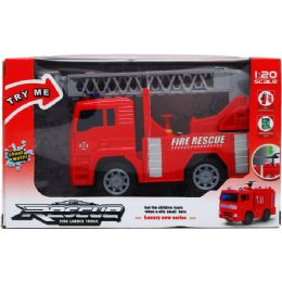 "24 Units of 7.5"" FIRE TRUCK WITH LIGHT AND SOUND - Toy Sets"