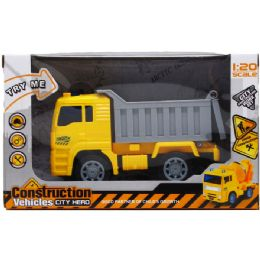 "24 Units of 6"" Dump Truck With Light And Sound - Toy Sets"