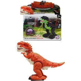 "18 Units of 8.25"" DINOSAUR (T-REX) IN COLOR BOX TWO ASSORTED COLORS - Toy Sets"
