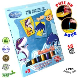 6 Units of Dolphin Sand Painting Set - Arts & Crafts