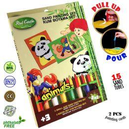 6 Units of Panda Sand Painting Set - Arts & Crafts