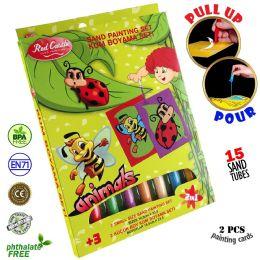6 Units of Ladybug Sand Painting Set - Arts & Crafts