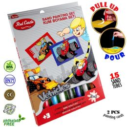6 Units of Cars Sand Painting Set - Arts & Crafts