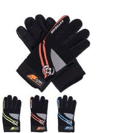 72 Units of Adults Winter Polyester Glove With Gripper Palm - Winter Gloves