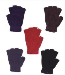 120 Units of Women's Finger Less Glove - Winter Gloves
