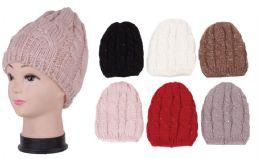 72 Units of Women's Knit Winter Hat - Winter Beanie Hats