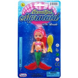 96 Units of Butterfly Fairy Doll On Blister Card - Dolls