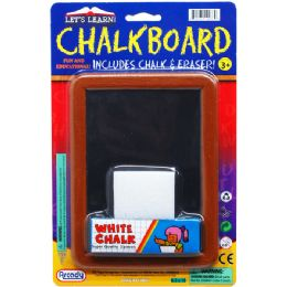 144 Units of Blackboard Play Set On Blister Card - Chalk,Chalkboards,Crayons