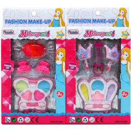 72 Units of Makeup Beauty Set In Pegable Window Box - Girls Toys