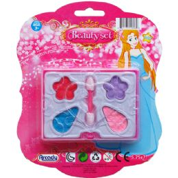 144 Units of Mini Make Up Beauty Set On Blister Card - Girls Toys
