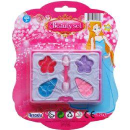 144 Units of MINI MAKE UP BEAUTY SET ON BLISTER CARD - Girls Toys