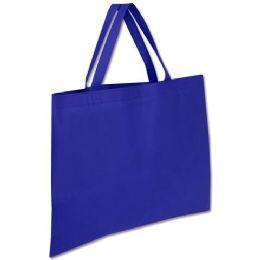 100 Units of 19 x 15 Large Tote Bag In Navy - Tote Bags & Slings