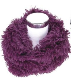 72 Units of Women's Plush Infinity Scarf - Womens Fashion Scarves