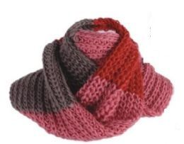72 Units of Women's Knitted Infinity Scarf - Womens Fashion Scarves