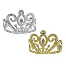 24 Units of 3.5in Tiara Crown - Costumes & Accessories