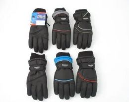 12 Units of Youth Ski Gloves With Thinsulate - Ski Gloves
