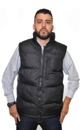 12 Units of Men's 3 Pocket Vest With Fleece Lining - Men's Winter Jackets