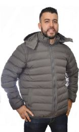 12 Units of Men's Nylon Synthetic Down Jacket - Men's Winter Jackets