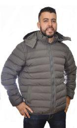 12 Units of Men's Nylon Synthetic Down Jacket - Men's Winter Jackets