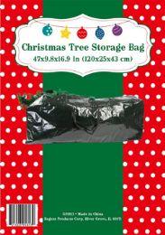 18 Units of Christmas Tree Storage Bag Green Waterproof Plastic - Christmas Novelties
