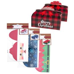 48 Units of Cookie Box Two Pack - Christmas Novelties
