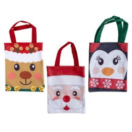 36 Units of Gift Bag Felt Christmas - Christmas Gift Bags and Boxes