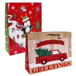 36 Units of Gift Bag Giant Christmas - Christmas Gift Bags and Boxes