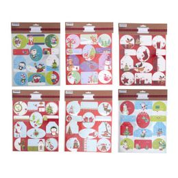 48 Units of Gift Tag Holographic Hotstamp - Christmas Gift Bags and Boxes