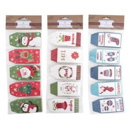 36 Units of Gift Tags With Strings - Christmas Gift Bags and Boxes