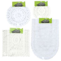 48 Units of Lace Doily Runner - Christmas Novelties
